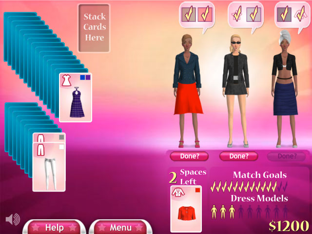 Free Online Fashion Solitaire Big Fish Games