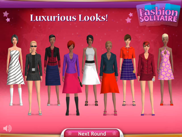 Fashion Solitaire Online - show off your creations